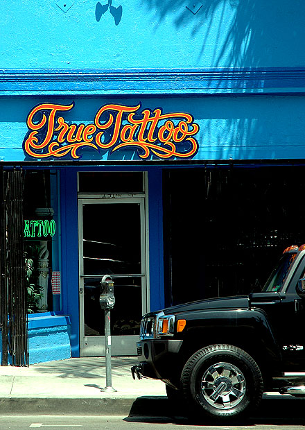 True Tattoo, 1614 North Cahuenga Boulevard, in the center of Hollywood