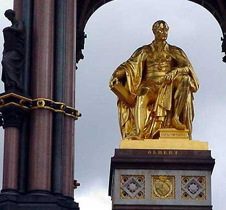 Prince Albert statue,London